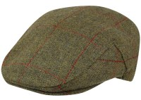 Barbour Wool Crieff Flat Cap